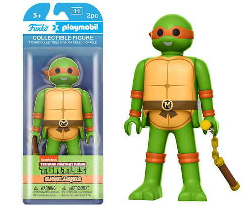 Teenage Mutant Ninja Turtles Funko Playmobil Michelangelo Action Figure