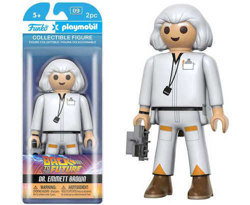 Back to the Future Funko Playmobil Dr. Emmett Brown Action Figure