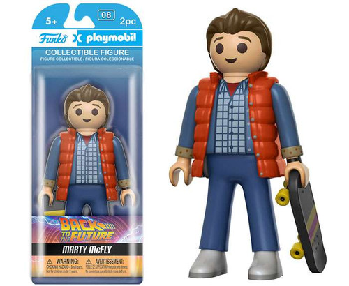 Back to the Future Funko Playmobil Marty McFly Action Figure