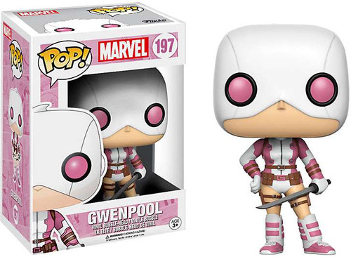 Funko POP! Marvel GwenPool Vinyl Bobble Head #197 [Holding Sword]