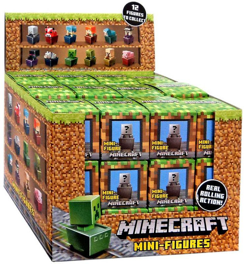 Minecraft Minecart Series 1 Mystery Box [36 Packs]