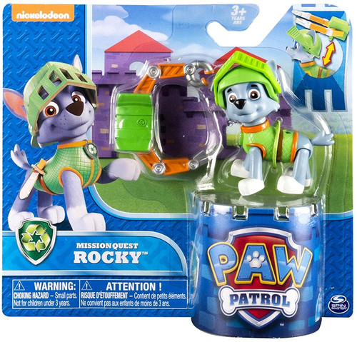 Paw Patrol Mission Quest Rocky Figure