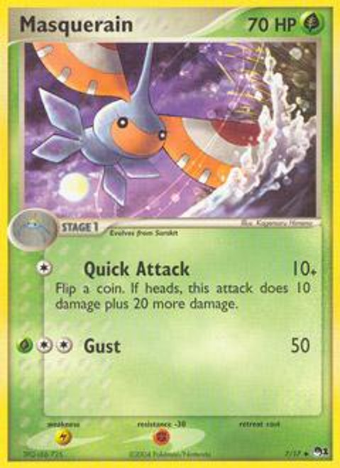 Pokemon Trading Card Game Organized Play Series 1 Uncommon Masquerain #7