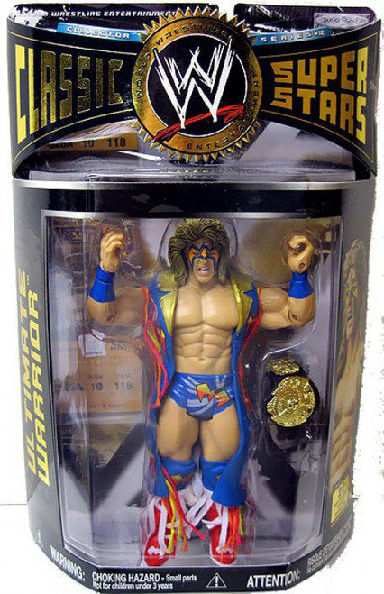 WWE Wrestling Classic Superstars Series 12 Ultimate Warrior Action Figure