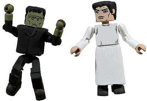 Universal Monsters Minimates Series 2 Dr. Henry Frankenstein & Frankenstein's Monster Mini Figure 2-Pack