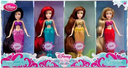 Disney Princess Mermaid Exclusive Doll Set #3 [Alana, Ariel, Adella & Arista]