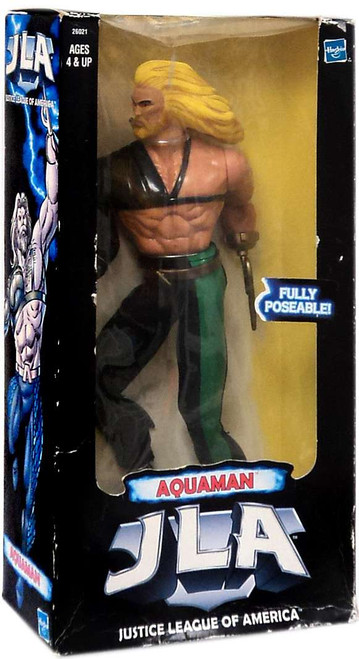 DC Justice League of America Aquaman Deluxe Action Figure [Damaged Package]