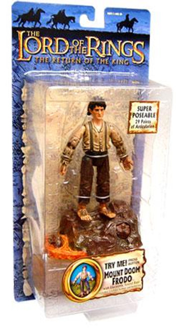 The Lord of the Rings The Return of the King Collectors Series Frodo Baggins Action Figure [Mount Doom]