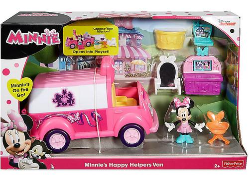 Fisher Price Disney Minnie Mouse Minnie's Happy Helpers Van Exclusive Playset