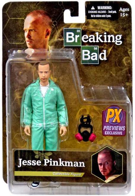 Breaking Bad Jesse Pinkman Exclusive Action Figure [Blue Hazmat Suit, Loose]