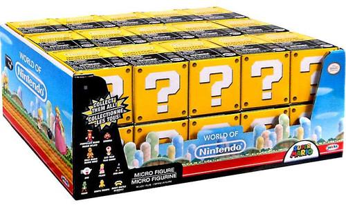 World of Nintendo Super Mario Series 2 Micro Figure Mystery Box [30 Packs]