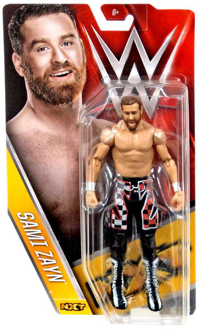 WWE Wrestling Series 61 Sami Zayn Action Figure [NXT, Damaged Package]
