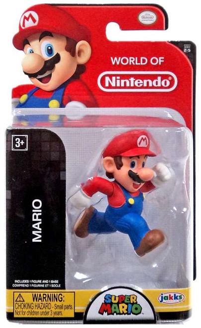 World of Nintendo Super Mario Mario 2.5-Inch Mini Figure [Running]