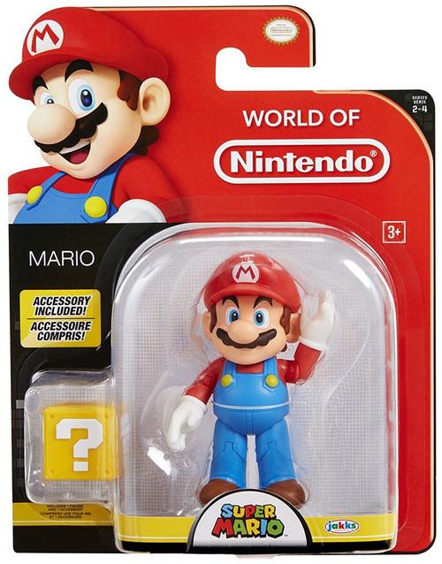 World of Nintendo Super Mario Mario Action Figure