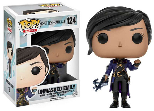 Funko Dishonored 2 POP! Games Unmasked Emily Exclusive Vinyl Figure #124