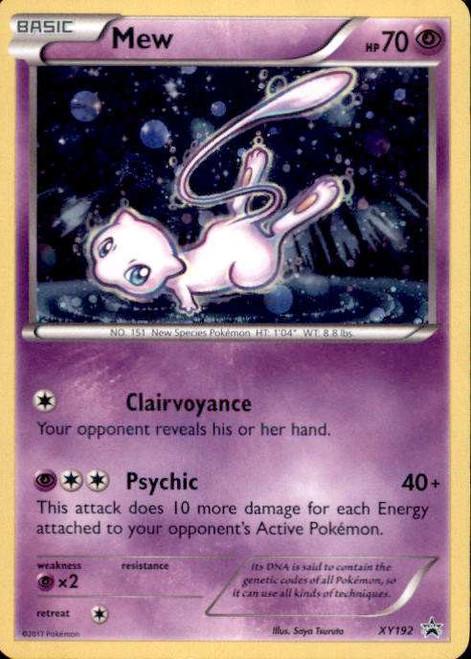 Pokemon X & Y Promo Holo Rare Mew XY192