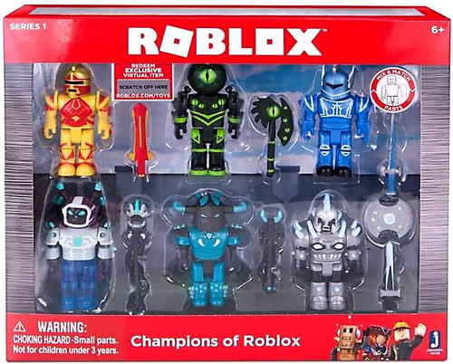 Champions of Roblox Action Figure 6-Pack