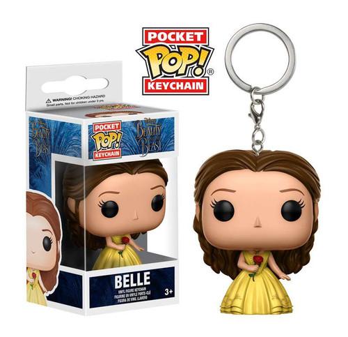 Funko Beauty and the Beast POP! Disney Belle Keychain