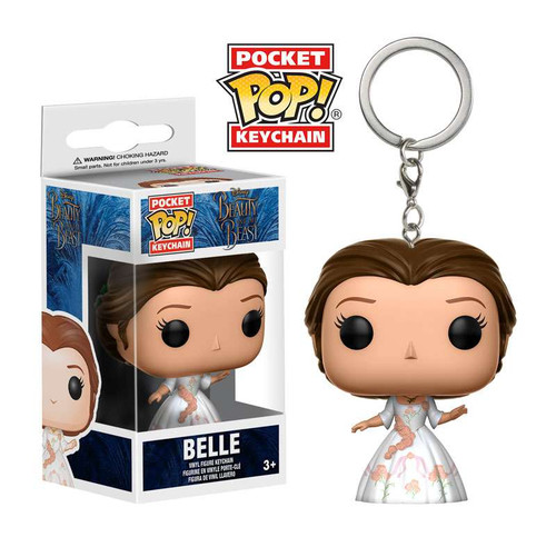 Funko Beauty and the Beast POP! Disney Belle Keychain [Celebration]