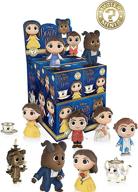 Funko Disney Beauty and the Beast Mystery Box [12 Packs]