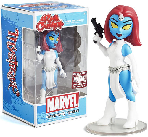 Funko Marvel Rock Candy Mystique Exclusive Vinyl Figure