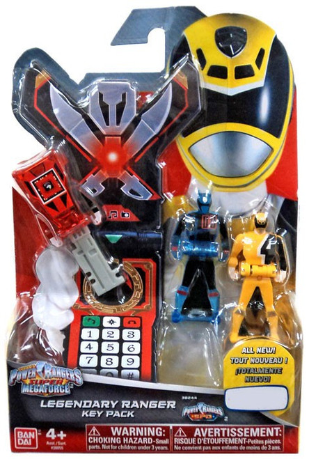 Power Rangers Super Megaforce Legendary Ranger Key Pack Exclusive Roleplay Toy [SPD, Red, Blue & Yellow]