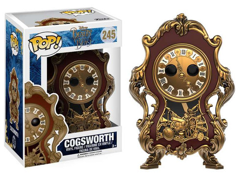 Funko Beauty and the Beast POP! Disney Cogsworth Vinyl Figure #245 [Live-Action Version]