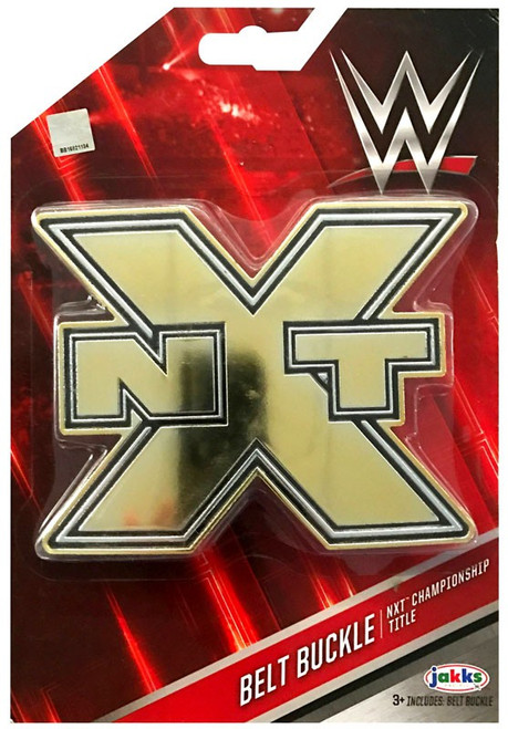 WWE Wrestling NXT Championship Title Belt Buckle