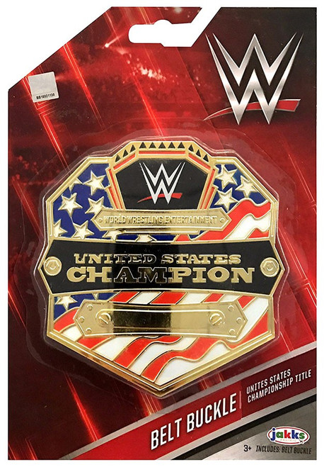 WWE Wrestling United States Championship Title Belt Buckle