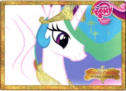My Little Pony Trading Cards Friendship is Magic Gold Foil Princess Celestia G1