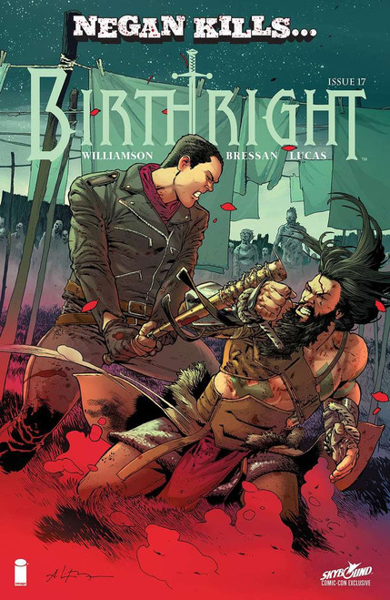 Image Comics Birthright #17 Skybound Comic-Con Negan Kills... Cover Comic Book