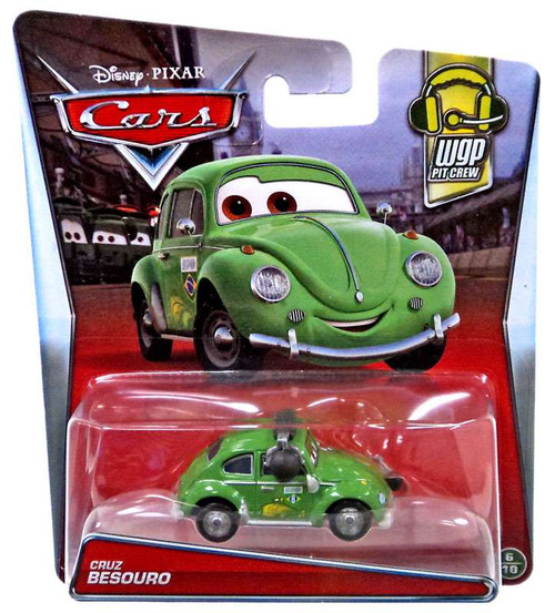 Disney / Pixar Cars WGP Pit Crew Cruz Besouro Diecast Car #6/10