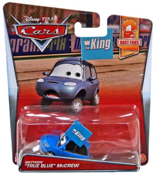 "Disney / Pixar Cars Race Fans Matthew ""True Blue"" McCrew Diecast Car #6/14"