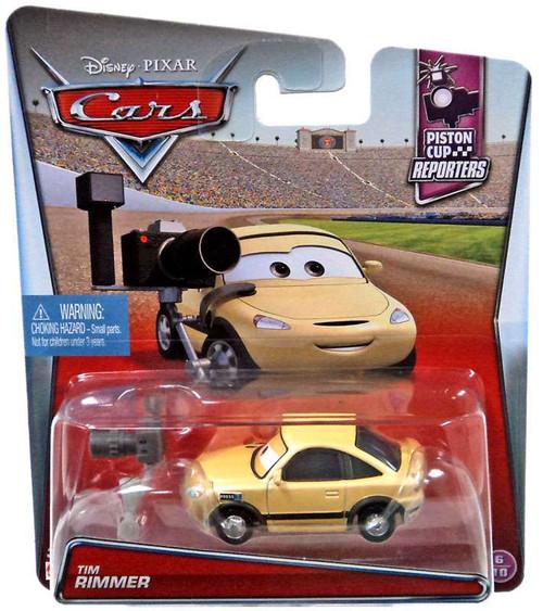 Disney / Pixar Cars Piston Cup Reporters Tim Rimmer Diecast Car #6/10