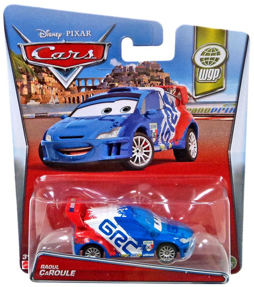 Disney / Pixar Cars WGP Raoul Caroule Diecast Car #4/13