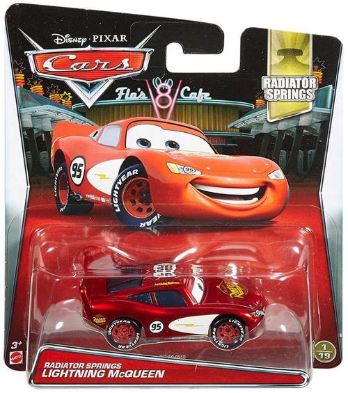 Disney / Pixar Cars Radiator Springs Lightning McQueen Diecast Car #1/19
