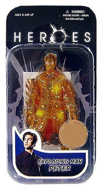 Heroes Peter Exclusive Action Figure [Exploding Man]