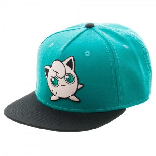 Pokemon Jigglypuff Color Block Snapback Cap Apparel