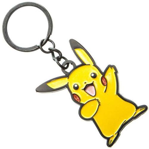Pokemon Pikachu Metal Keychain Apparel