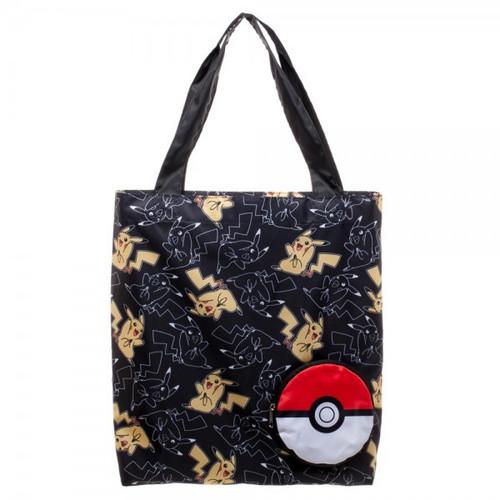 Pokemon Pikachu Packable Tote Apparel