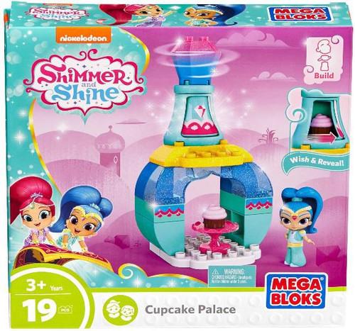 Mega Bloks Shimmer & Shine Cupcake Palace Set DXH13