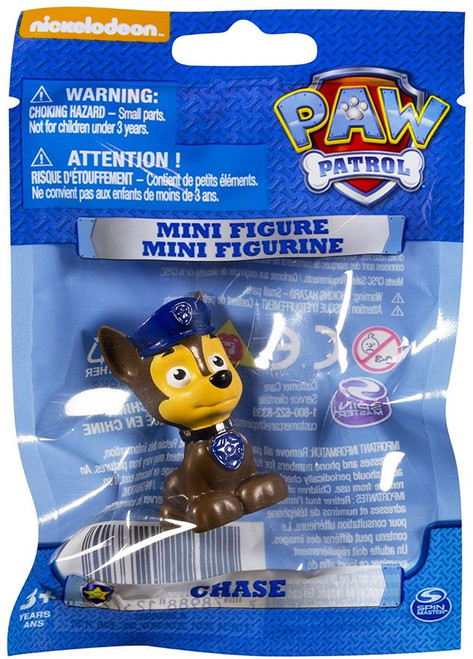 Paw Patrol Chase Mini Figure [Bagged]