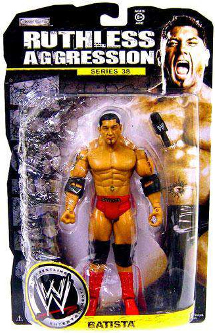 WWE Wrestling Ruthless Aggression Series 38 Batista Action Figure [Loose]