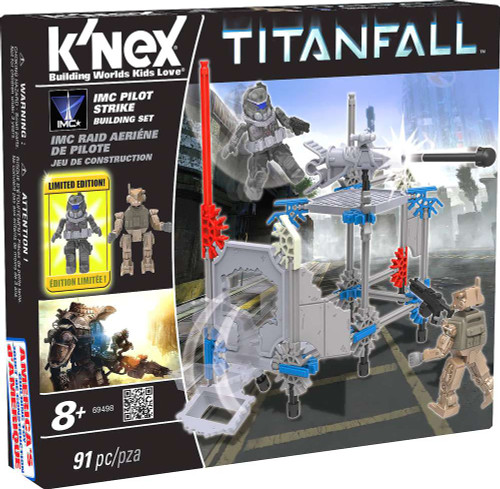 K'NEX Titanfall IMC Pilot Strike Set #69498 [Damaged Package]