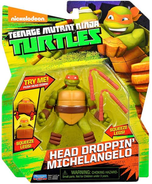 Teenage Mutant Ninja Turtles Nickelodeon Head Droppin' Michelangelo Action Figure