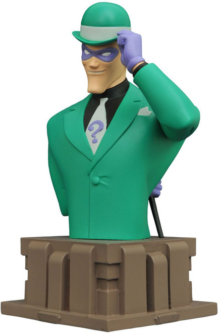DC Batman The Animated Series The Riddler 5-Inch Bust (Pre-Order ships January)