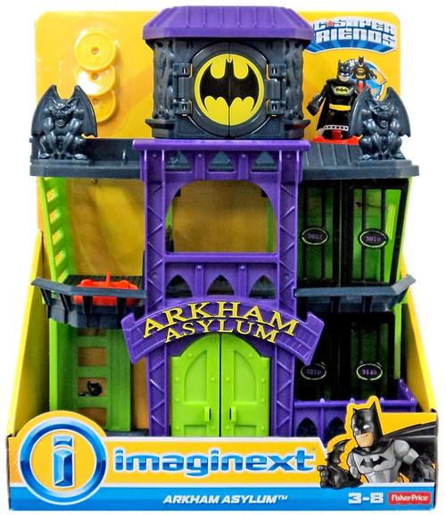 Fisher Price DC Super Friends Imaginext Arkham Asylum Figure Set