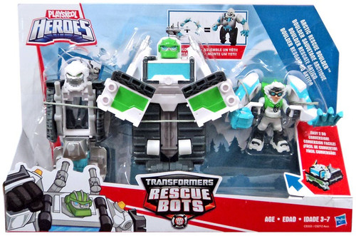 Transformers Playskool Heroes Rescue Bots Arctic Rescue Boulder Action Figure 3-Pack