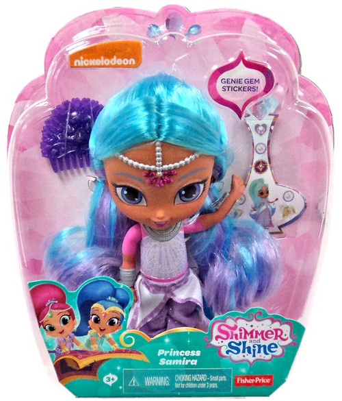 Fisher Price Shimmer & Shine Princess Samira 6-Inch Basic Doll