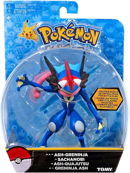 Pokemon Ash-Greninja Action Figure